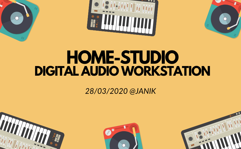 Digital Audio Workstation im Home-Studio