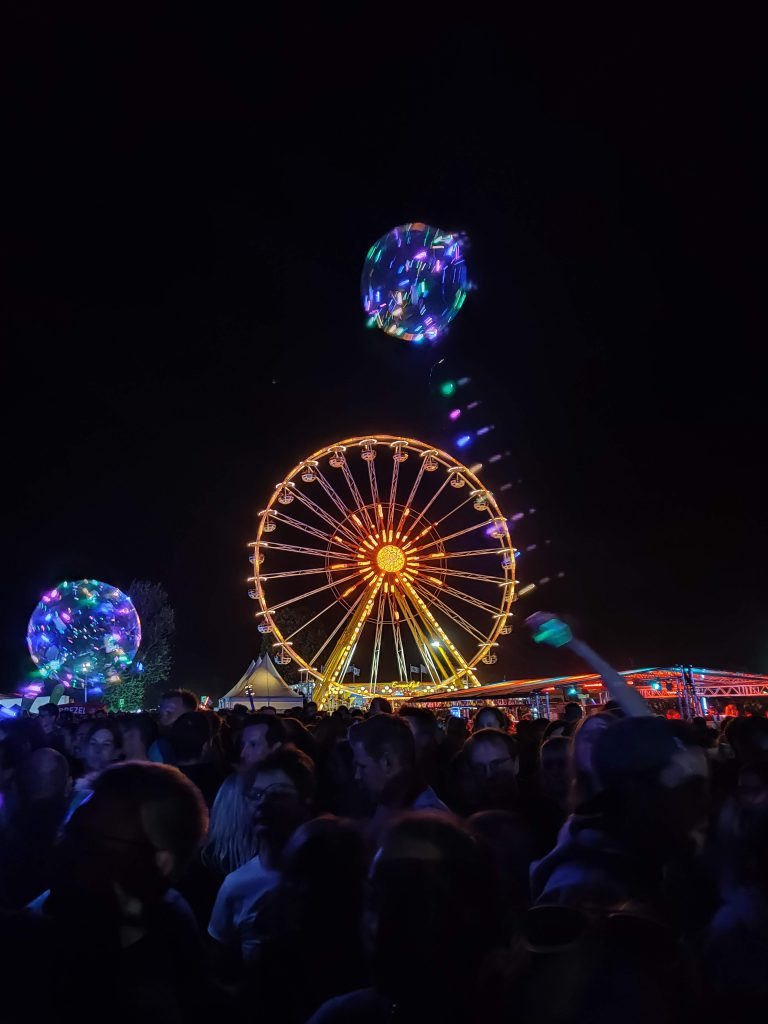Highfield Festival Riesenrad - Sunset Music