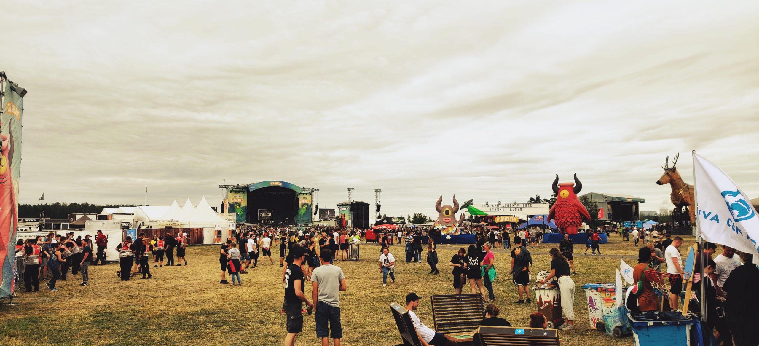 Highfield Festival Gelände - Sunset Music