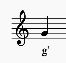 Bild: Violinschlüssel  Sunset Music