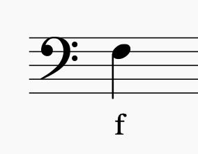 Bild: Bassschlüssel
