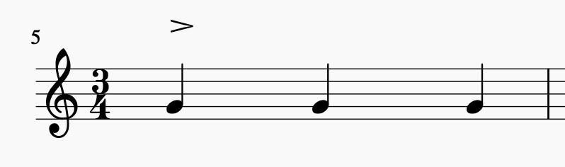 3/4 Takt: Betonung auf der 1   Sunset Music