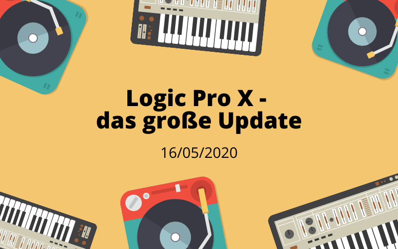 Logic Pro X – das große Update