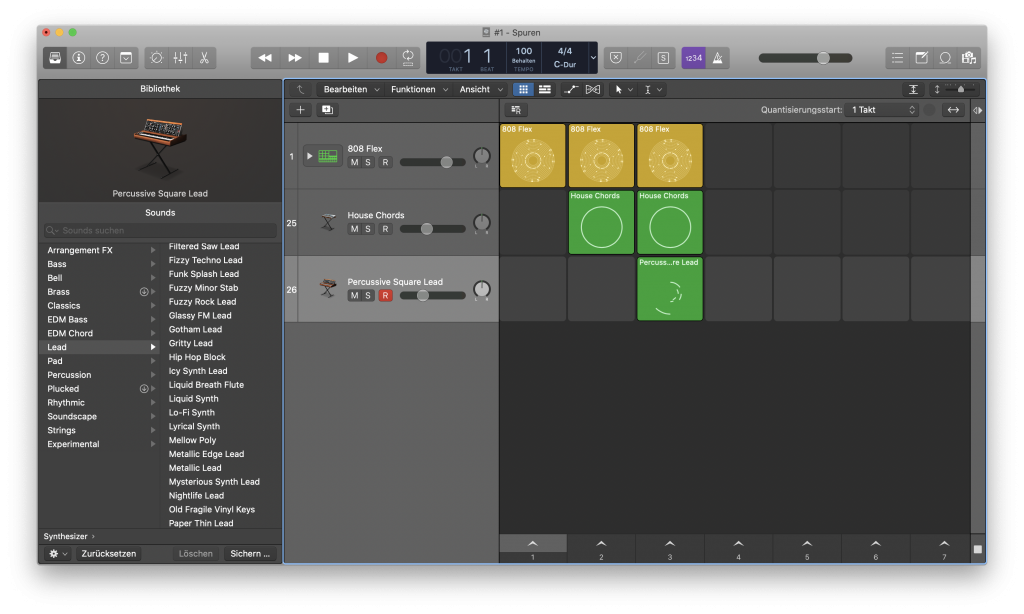 LiveLoops in Logic Pro X - Sunset Music