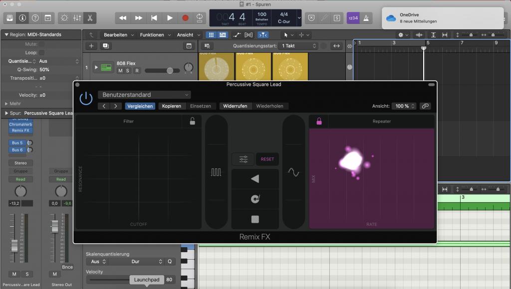 Remix FX in Logic Pro X - Sunset Music