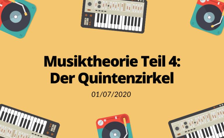 Musiktheorie Teil 4: Der Quintenzirkel | Sunset Music
