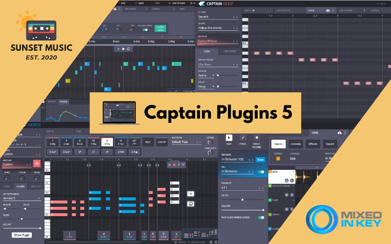 Captain Plugins DAW Musikproduktion - Sunset Music